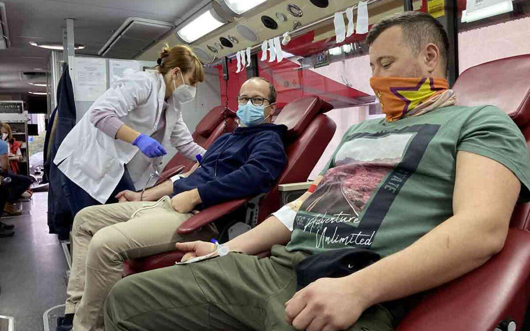 Do szpitali trafiło 500 litrów krwi od górników TAURONA