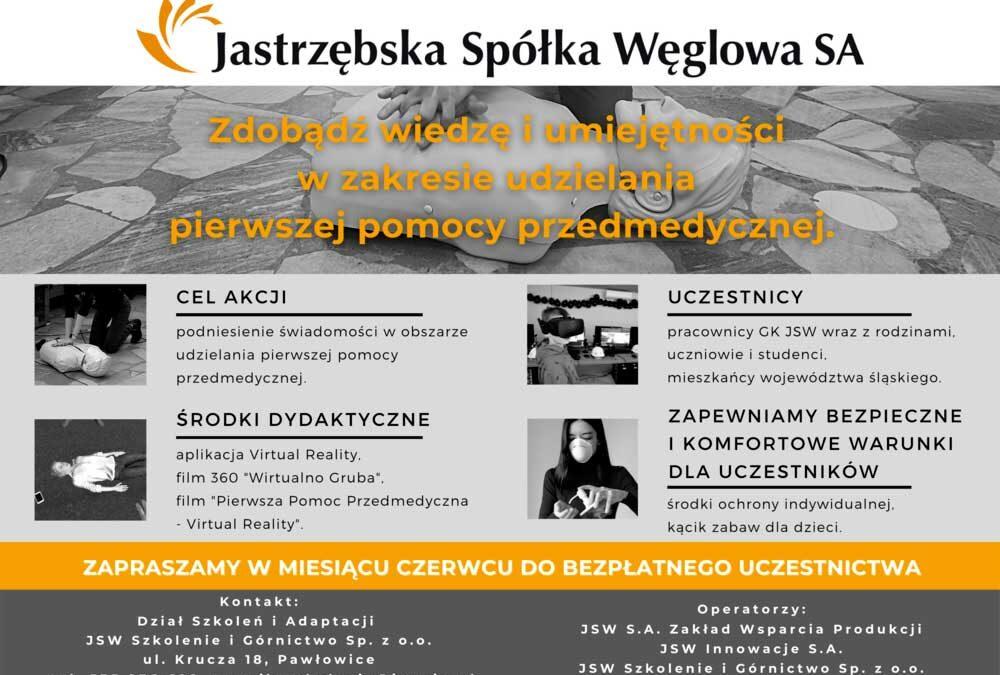 GK JSW szkoli chętnych z pierwszej pomocy przedmedycznej