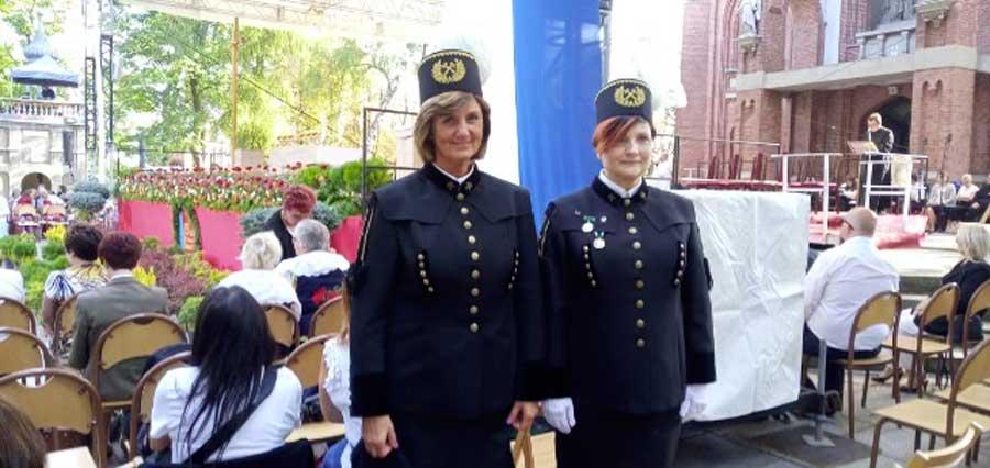Reprezentacja PGG S.A. na Pielgrzymce Stanowej Kobiet i Dziewcząt do Matki Boskiej Piekarskiej