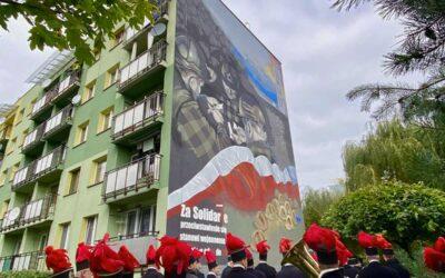 Górniczy mural oficjalnie odsłonięty